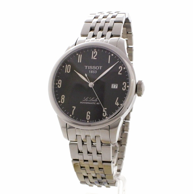 mens tissot le locle powermatic 80 automatic watch t0064071105200