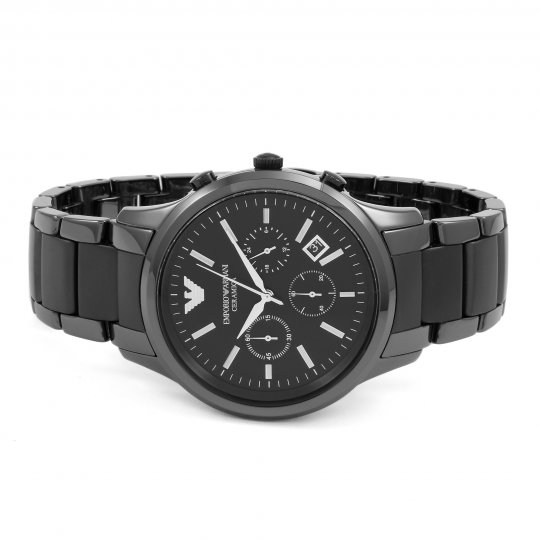 mens emporio armani ceramic chronograph watch ar1452 mens emporio armani ceramic chronograph watch ar1452 keyboard arrow right keyboard arrow left